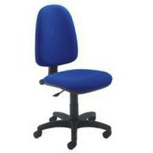 Jemini High Back Operator Blue Chair KF50174