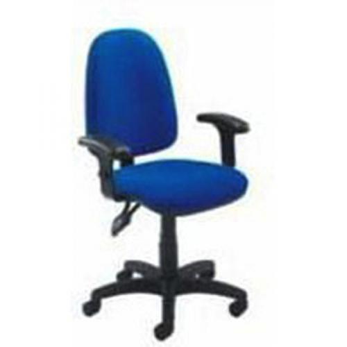 Jemini High Back Tilt Operator Blue Chair KF50177