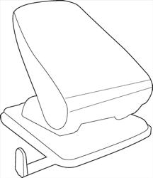 White Box Hole Punch Light Duty
