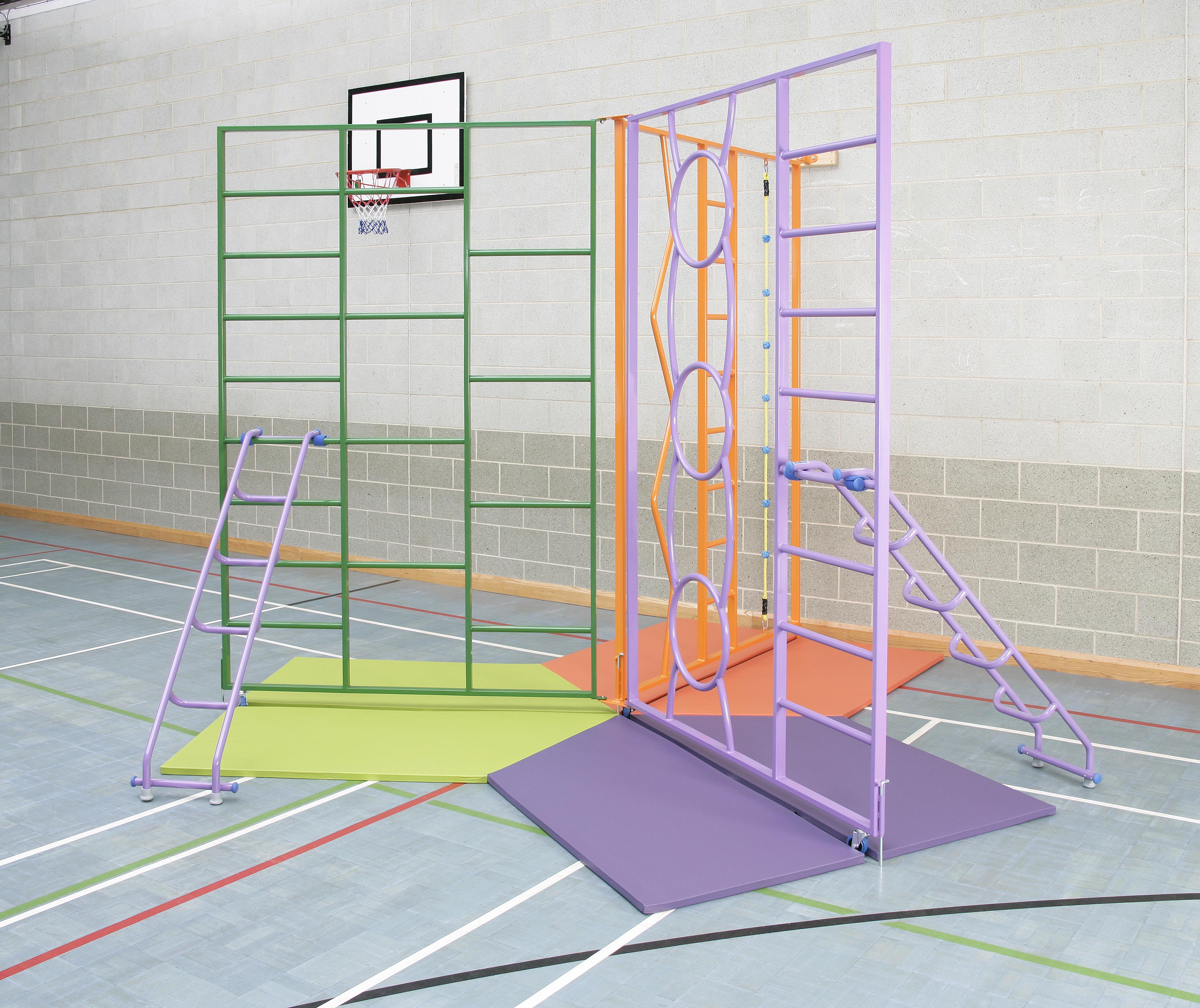 Rainbow Climbing Frame - each Gate 1830W x 2750H