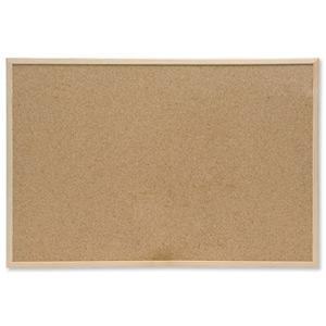 Bi Office Memo Cork Board Red 600x400mm FB0310010