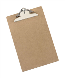 5 Star Clipboard Rigid Hardboard Foolscap