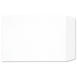 5 Star Envelopes Pocket Press Seal 90gsm White C4 Retail Pack [Pack 25]