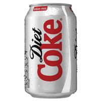Diet Coca-Cola Soft Drink 330ml   100224