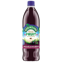 Robinsons Apple/Blackcurrant Squash No Sugar 1 Litre 4158