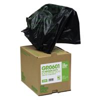 The Green Sack Refuse Bag Heavy Duty Black in Dispenser Pk 75 GRO604