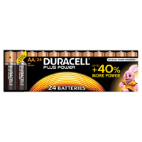 Duracell Plus Battery AA Pk 24 81275383