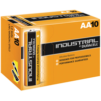 Duracell Industrial AA Alkaline Batteries 81452400 (Pack of 10)