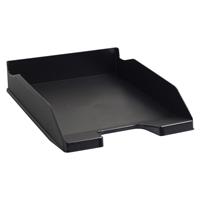 Exacompta Forever Letter Tray Black 113014D