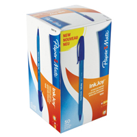 PaperMate Inkjoy 100 Stick Ball Point Pen Blue S0957130