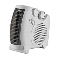 2kW Flat Fan Heater White CRHFF06/H