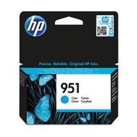 HP 951 Cyan Inkjet Cartridge CN050AE