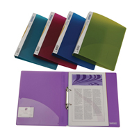 Rapesco 2 Ring Binder 25mm Assorted Pack of 10 0716