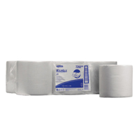 Wypall Wipers Centrefeed Roll 1-Ply White Pk 6 7266