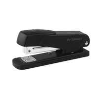 Q-Connect Metal Stapler Half Strip Black KF01044
