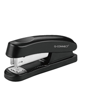 Q-Connect Plastic Stapler Half Strip Black KF01056