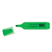 Q-Connect Highlighter Pen Green Pk 10 KF01113