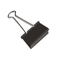 Q-Connect Foldback Clip 19mm Black KF01282