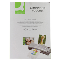 Q-Connect Laminating Pouch A4 80micron Pk 100 KF04114