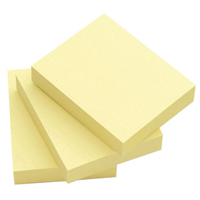 Q-Connect Repositionable Quick Notes 51 x 76mm Yellow KF10501