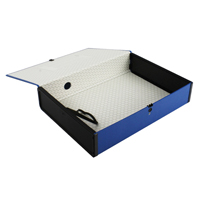 Q-Connect Box File Foolscap Blue Pk 5