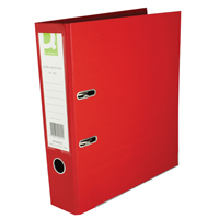 Q-Connect Lever Arch File A4 Polypropylene Red KF20021