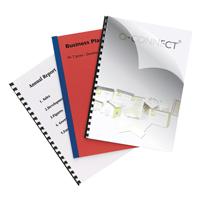 Q-Connect Binding Covers 250micron A4 Pk 100 KF24011