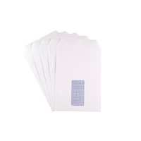 Q-Connect Envelope C5 Window 90gsm Self Seal White 2820