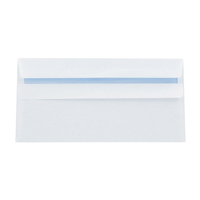 Q-Connect Envelope DL 80gsm Self Seal White Pk 1000 KF3454