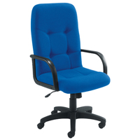 Arista High Back Manager Chair Royal Blue KF50113