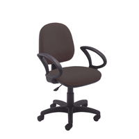Jemini Medium Back Operator Chair Charcoal KF50169