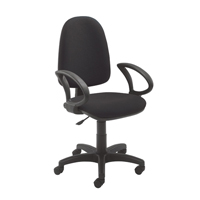Jemini High Back Operator Chair Charcoal KF50172