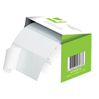 Q-Connect Adhesive Address Label Roll 102 x 49mm 0073024