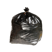 Heavy Duty Refuse Sack Black KF73376 Pack of 200