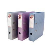 Pukka Metallic Lever Arch File 75mm Assorted 6866-MET