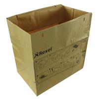 Rexel Recycling Shredder Waste Bags Pk 50 2102248