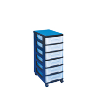 Really Useful Tower 6X7 Literature Drawers Black St6X7C