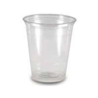 Clear Plastic Water Cups 20cl    RY0146