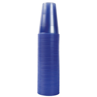 Nupik-Flo Water Cups 20cl Blue Pk 1000 2193