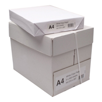Copier Paper A4 White Ream Buy 10 at £13.50 a box