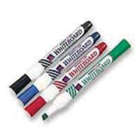 Whitebox Assorted Whiteboard Markers Chisel Tip (Pack of 4) WX26038